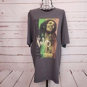 Zion Rootswear Bob Marley Graphic T-Shirt